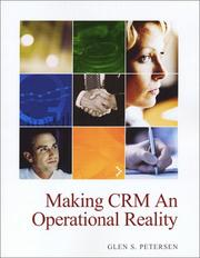 Cover of: Making CRM