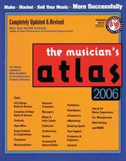 Cover of: Musicians Atlas (Updated for 2006) |