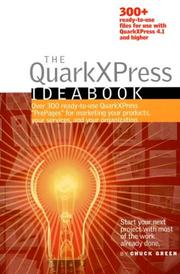 Cover of: The QuarkXPress Ideabook