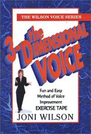 Cover of: The 3-Dimensional Voice Exercise Tape