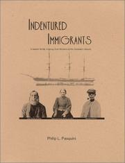 Cover of: Indentured immigrants