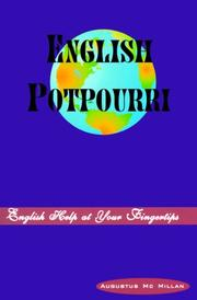 Cover of: English potpourri
