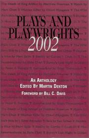 Cover of: Plays and Playwrights 2002 | Martin Denton
