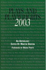 Cover of: Plays and Playwrights 2003 |