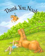 Cover of: Thank you, Noah