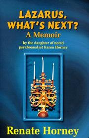 Cover of: Lazarus, what's next?