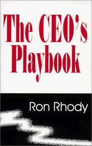 Cover of: The CEO's playbook