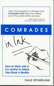 Cover of: Comrades in ink