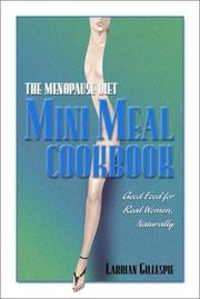 Cover of: The Menopause Diet Mini Meal Cookbook