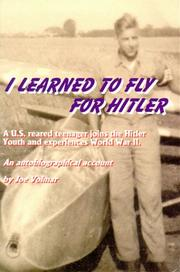 Cover of: I learned to fly for Hitler