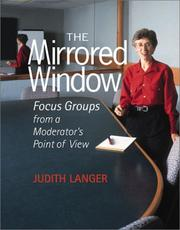 Cover of: The mirrored window | Judith Langer