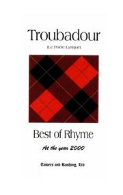Cover of: Troubadour - Best of Rhyme at the year 2000 | Robert Goulet