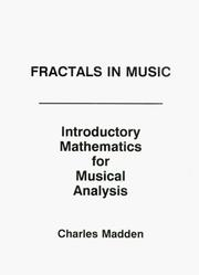 Cover of: Fractals in Music
