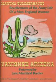 Cover of: Vanished Arizona (Living Voices of the Past) (Living Voices of the Past, 2)