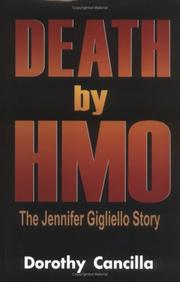 Cover of: Death by HMO