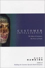 Cover of: Customer Intelligence