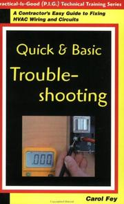Cover of: Quick & Basic Troubleshooting | Carol Fey