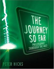 Cover of: Journey So Far, The | Peter Hicks