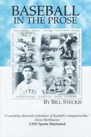 Cover of: Baseball in the Prose | Bill Steckis