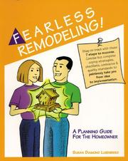 Cover of: Fearless Remodeling! A Planning Guide for the Homeowner | Susan Diamond Luxenberg