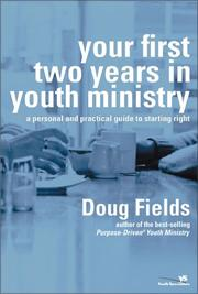 Cover of: Your First Two Years in Youth Ministry