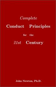Cover of: Complete conduct principles for the 21st century