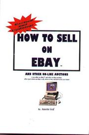 Cover of: How to sell on eBay and other on-line auctions