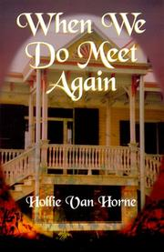 Cover of: When We Do Meet Again