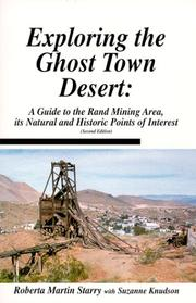 Cover of: Exploring the ghost town desert