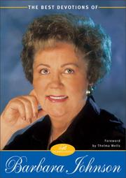 Cover of: Best Devotions of Barbara Johnson, The