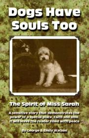 Cover of: Dogs have souls too