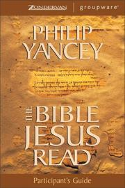 Cover of: Bible Jesus Read Participant's Guide, The