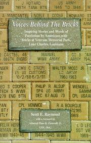 Cover of: Voices behind the bricks | Scott E. Raymond