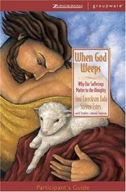Cover of: When God Weeps Participant's Guide