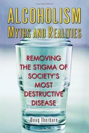 Cover of: Alcoholism Myths and Realities