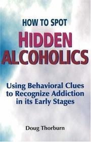 Cover of: How to Spot Hidden Alcoholics