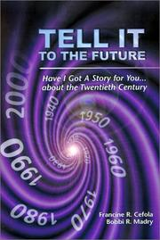 Cover of: Tell It to the Future  |