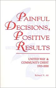 Cover of: Painful decisions, positive results