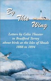 Cover of: By this wing