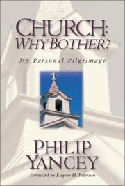 Cover of: Church: Why Bother?