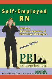 Cover of: Self-Employed RN | RN CEN Patricia Ann Bemis