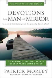Cover of: Devotions for the Man in the Mirror | Patrick Morley