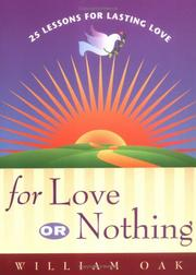 Cover of: For Love or Nothing | William Oak
