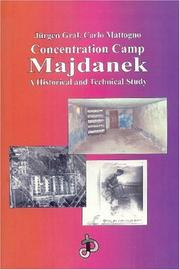 Cover of: Concentration camp Majdanek | Jürgen Graf