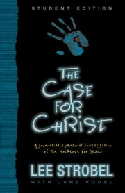 Cover of: Case for Christ--Student Edition, The | Lee Strobel