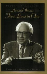 Cover of: Five lives in one | Isaacs, Leonard