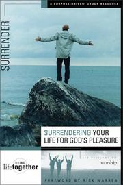 Surrendering your life for Gods pleasure