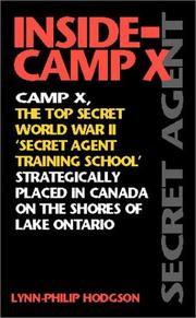 Cover of: Inside-Camp X (Inside-Camp X)