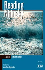 Cover of: Reading Nijinsky