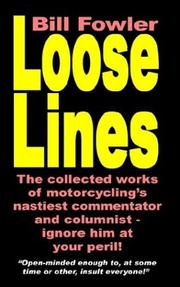 Cover of: Loose Lines | Bill Fowler